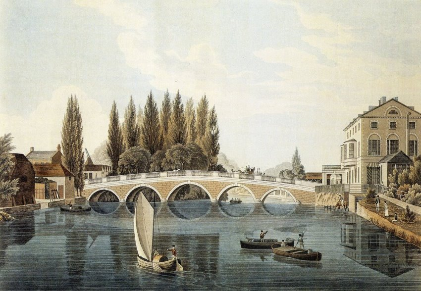 Bedford bridge 1824.